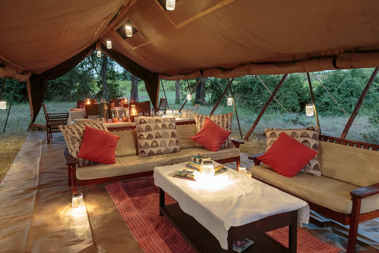 Luxury camping, Gavin Opie Safaris