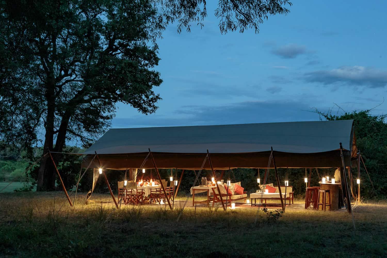 Luxury safari at Gavin Opie Safaris