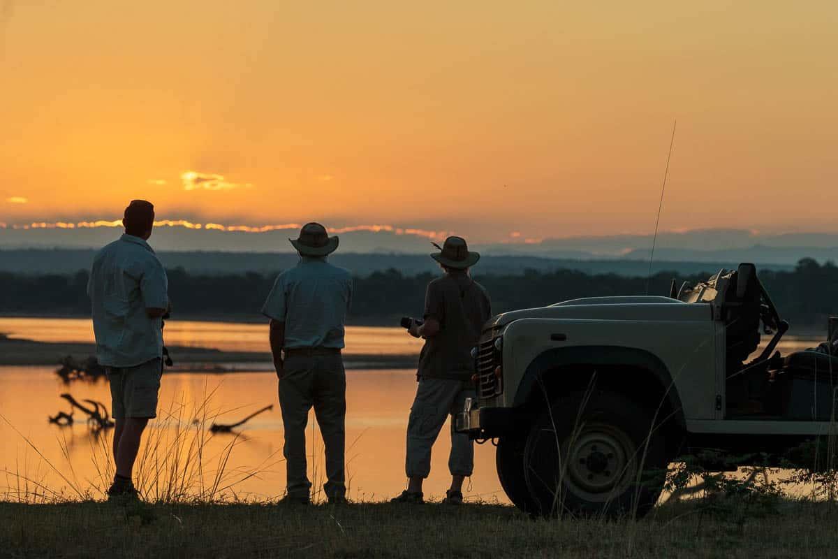 Safari activities, Gavin Opie Safaris